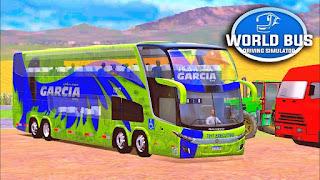 تحميل لعبة World Bus Driving Simulator مهكرة للاندرويد