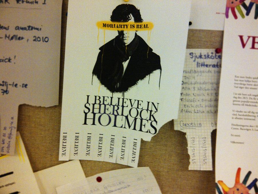 believe in sherlock holmes