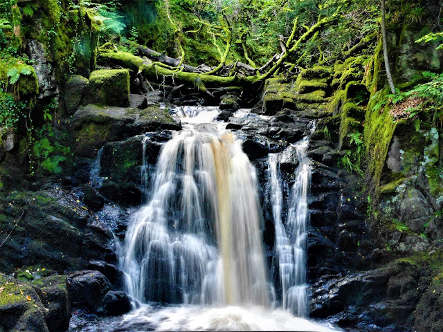 EcoYoga Scotland - Inverliever Lodge - Lower Gorge Falls