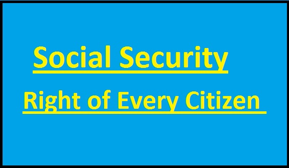 social-security-right-of-every-citizen