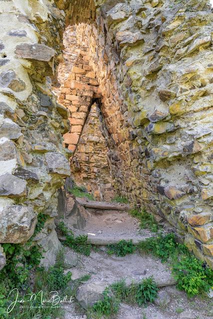 Château du Hugstein — Courtine sud-ouest