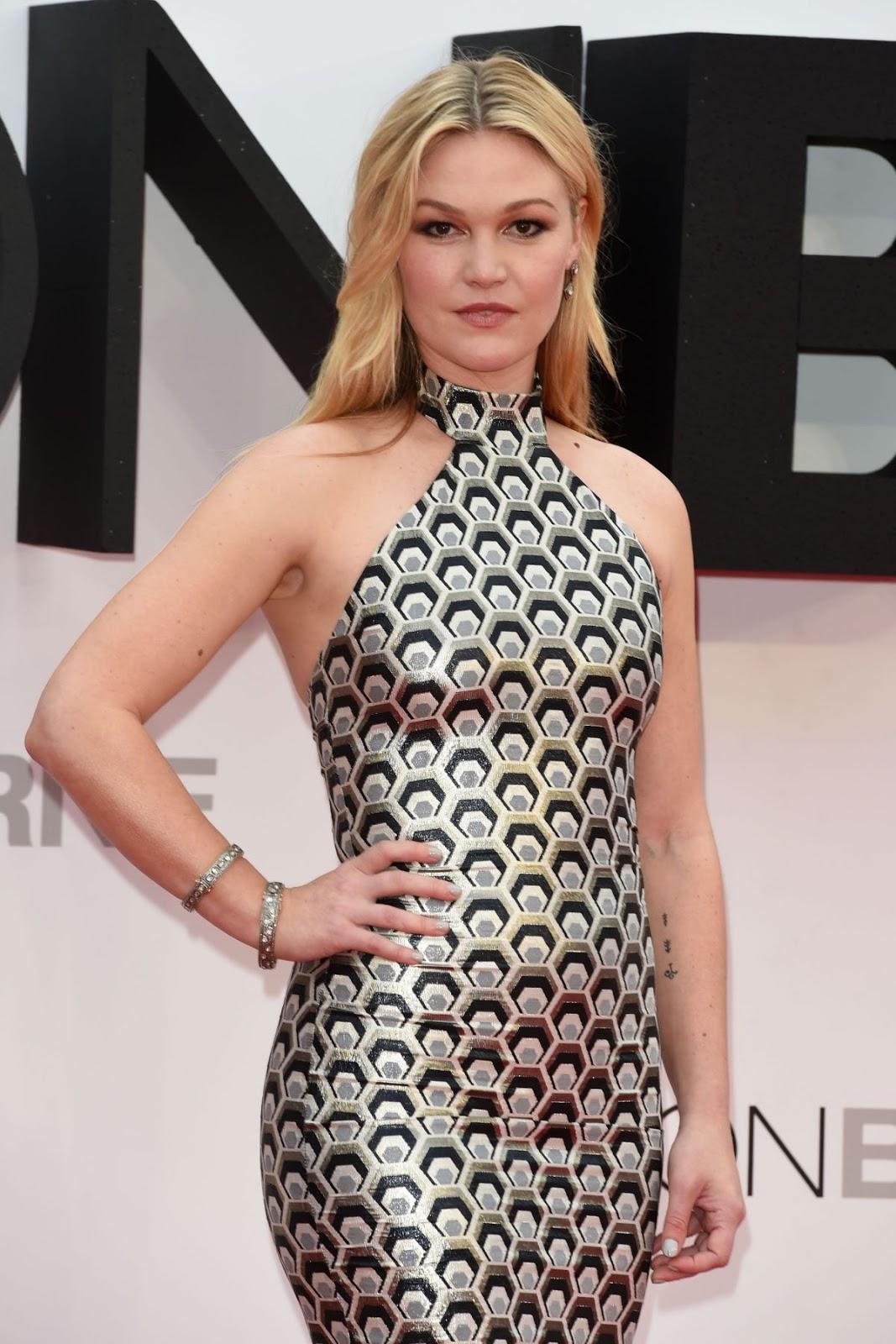 'Jason Bourne' actress Julia Stiles at Jason Bourne London Premiere