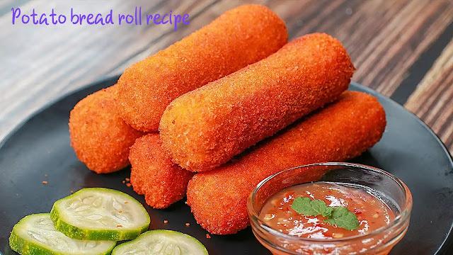 Healthy potato bread roll recipe – spicy potato bread roll at home