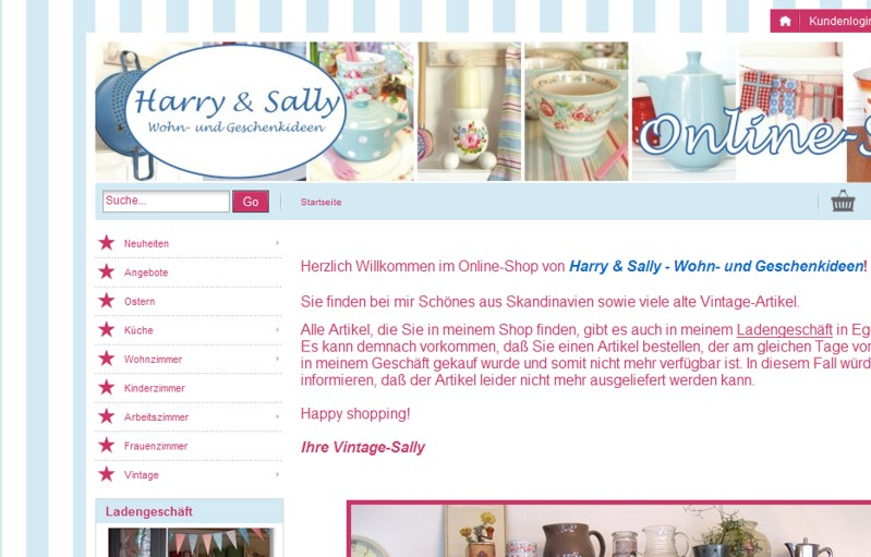 sallys zuhause neuer online shop. Black Bedroom Furniture Sets. Home Design Ideas