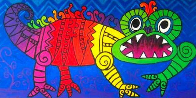 Wujud dari Taniwha dalam mitologi Maori