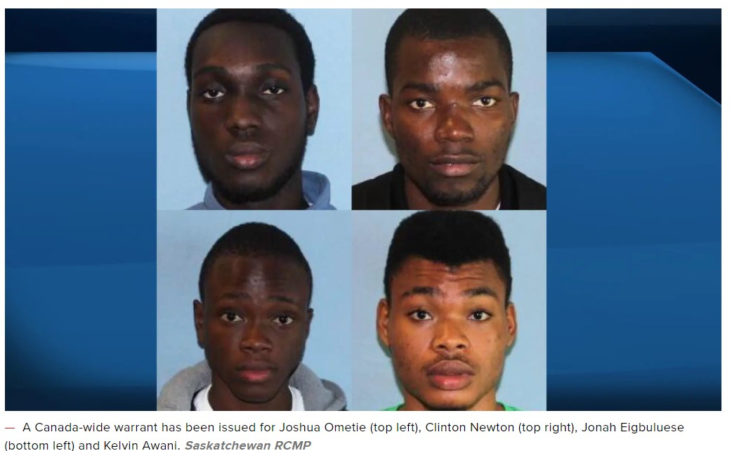 Four Nigerian Students In Canada Wanted For $2 Million