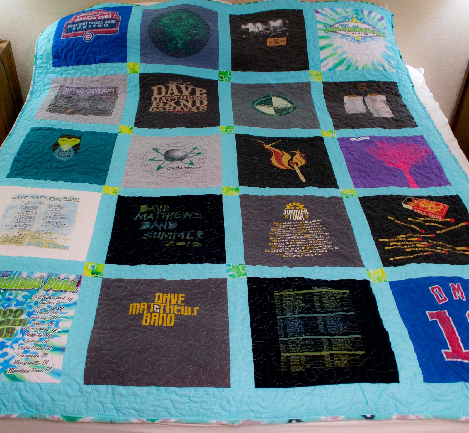 Heidi Schatze T Shirt Quilt Tutorial Part 2 Finishing