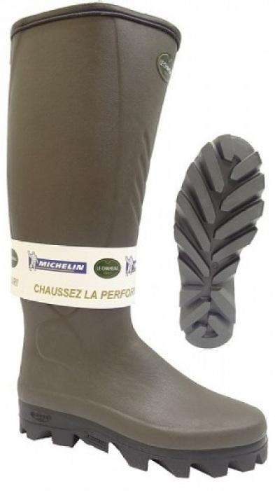 Stivali Le Chameau Ceres Neoprene Taupe robusto e confortevole. Tomaia in  caoutchouc naturale. Foderato in Neoprene di 3 mm che garantisce un ottimo  ... 844394be8d9