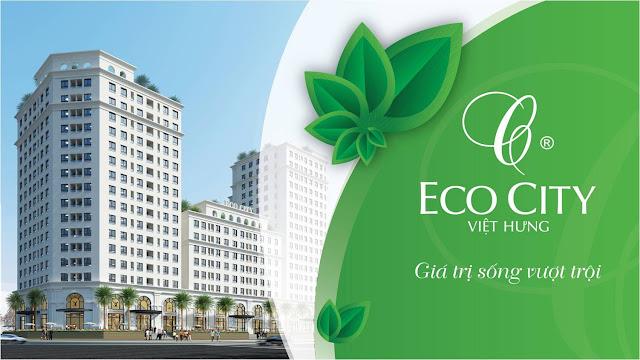 Phối cảnh dự án Eco City Long Biên