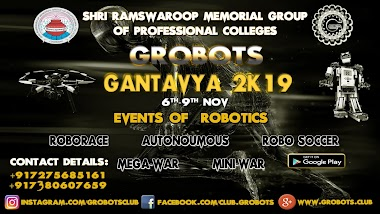 Online Registration for Robotics Events|GANTAVYA 2K19 |GROBOTS|SRMGPC