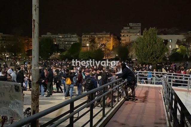Κορωνοπάρτι με πάνω από 1.000 άτομα στο Αριστοτέλειο Πανεπιστήμιο Θεσσαλονίκης  (βίντεο)