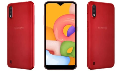 Samsung officially launched the Galaxy M01 at a very affordable price