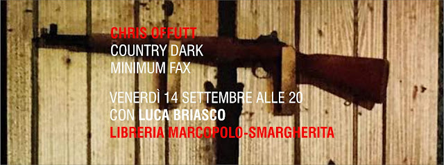Chris Offutt con Country Dark alla MarcoPolo-S.Margherita