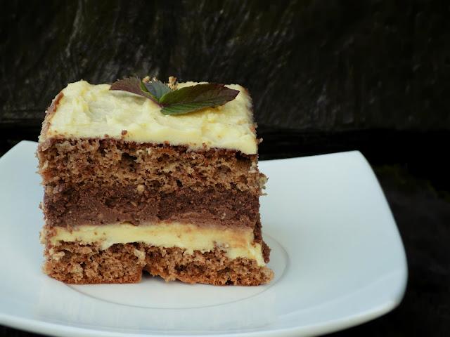 ciasto z chałwą siostry anastazji biszkopt z chałwą ciasto z chałwą bez pieczenia ciasto chałwowe bez pieczenia