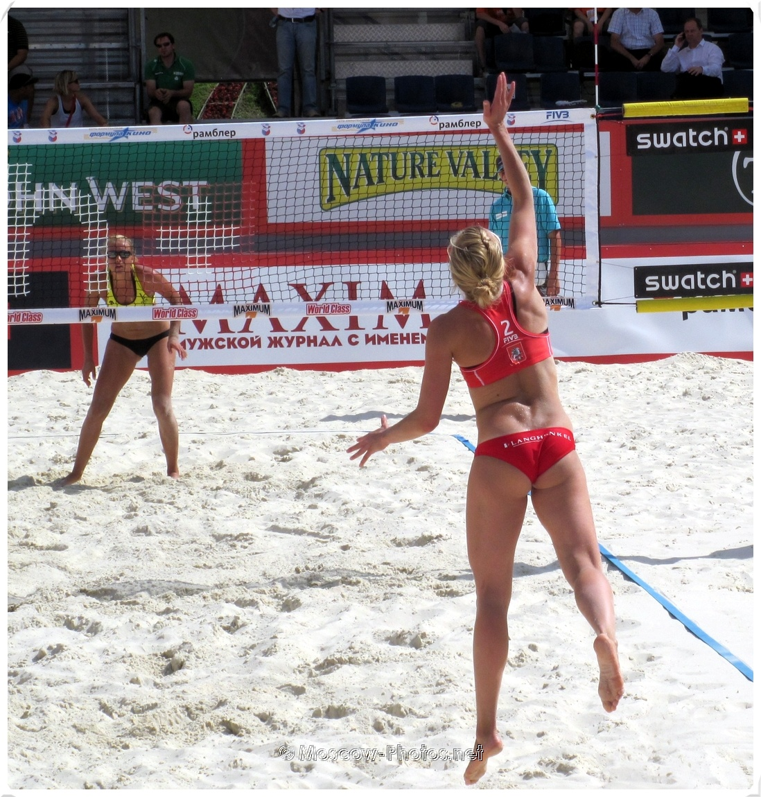 Power Serve of Marloes Wesselink
