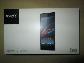 Dus Hape Sony Xperia Z Ultra