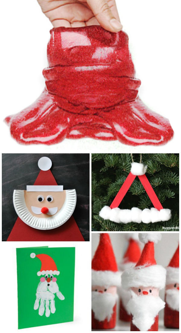 Bring Santa to life with this collection of holiday crafts and activities for kids.  Santa Claus activities for preschool. #santaclaus #santa #santacrafts #santaclauscrafts #santacraftsforkids #santaclauscraftsfortoddlers #christmascrafts #christmascraftsforkids #santaart #santaactivitiespreschool #growingajeweledrose #activitiesforkids