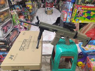 Review Water Gel Gun SCAR Submachine Gun