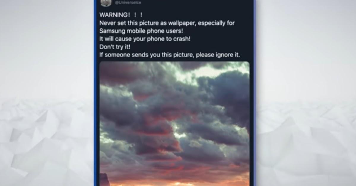 Wallpaper That Kills Your Phone Dangerous