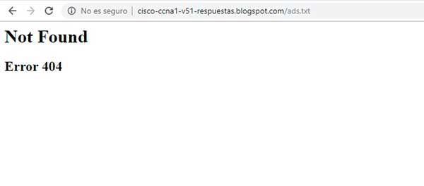 Crear / habilitar ads.txt en Blogger
