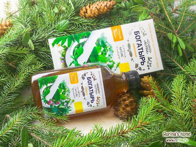 Бальзам медово-растительный Альпина «Богатырь» иммунный: отзывы