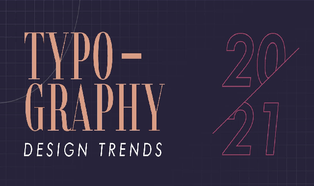 8 Typography Design Trends for 2021 #infographic