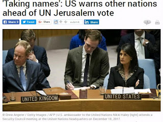 Αμερικανικό βέτο σε σχέδιο του ΟΗΕ υπέρ των Παλαιστινίων