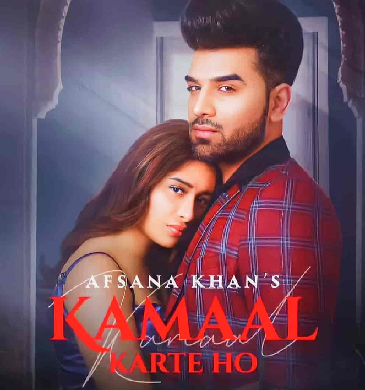 A very talented punjabi female artist Afsana Khan come back again with new sad hindi song which is titled Kamaal Karte Ho sung by her.
