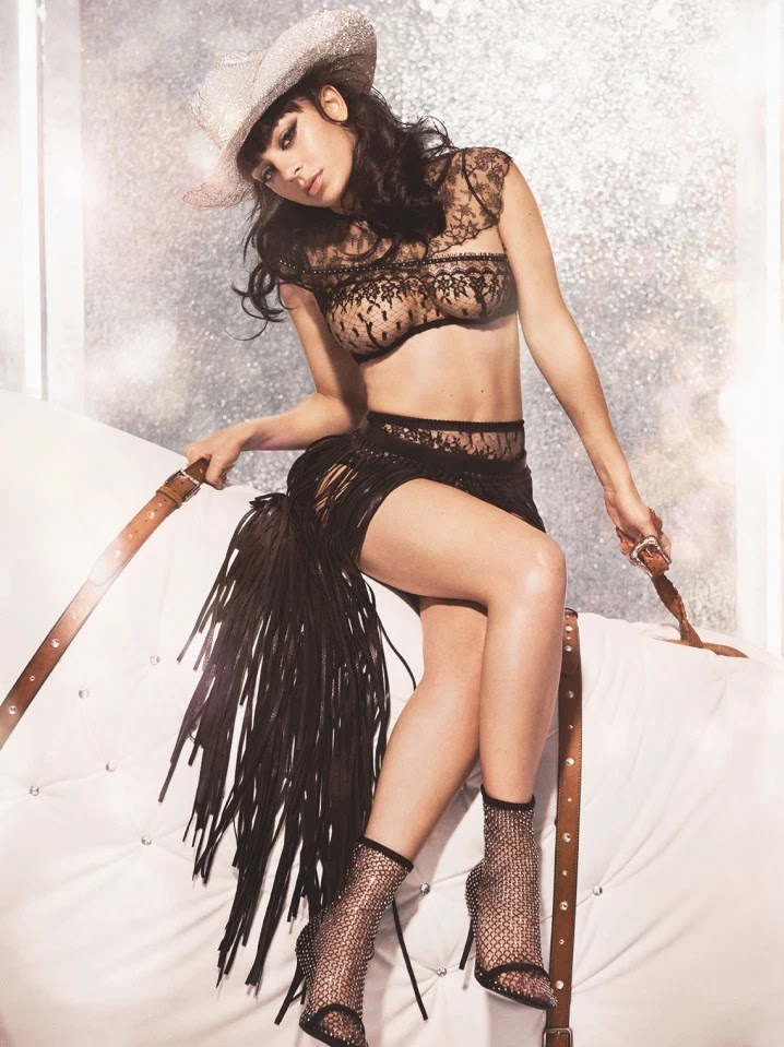 Charli XCX - Agent Provocateur's Christmas Campaign 2019