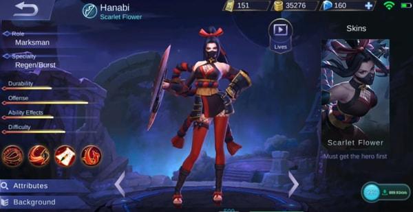 Mobile Legends Hanabi