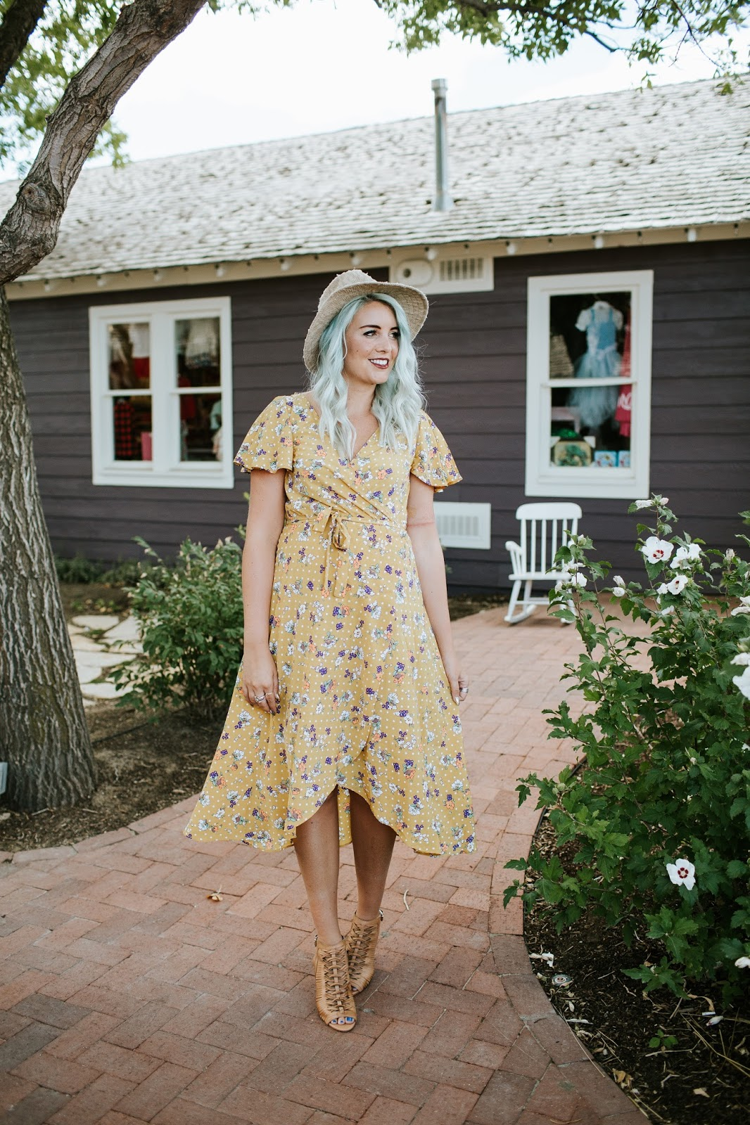 Floral, Vintage Dress, Fall Style