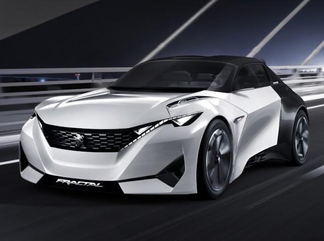 Cupê futurista da Peugeot, Fractal tem presença confirmada no Salão do Automóvel
