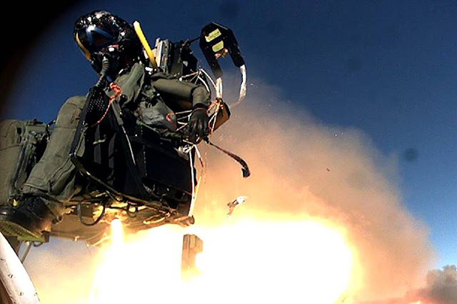 USAF F15 advanced ejection seat