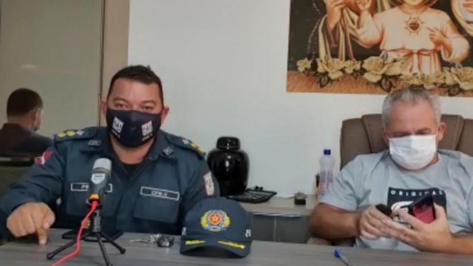 Em vídeo, coronel ordena PM a algemar quem desobedecer isolamento