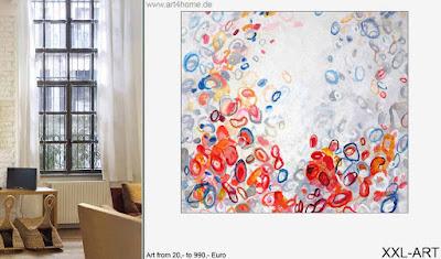 Moderne Kunst präsentiert sich echt günstig!