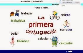 http://cplosangeles.juntaextremadura.net/web/edilim/curso_4/lengua/primera_conjugacion/primera_conjugacion.html