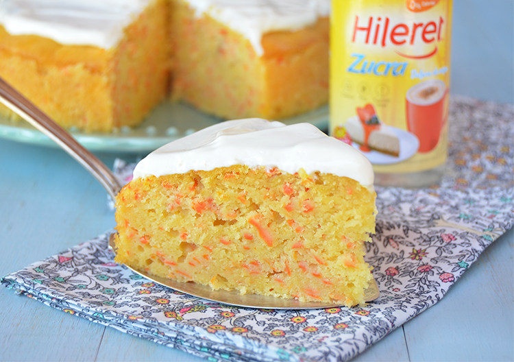 Torta de zanahorias sin azúcar