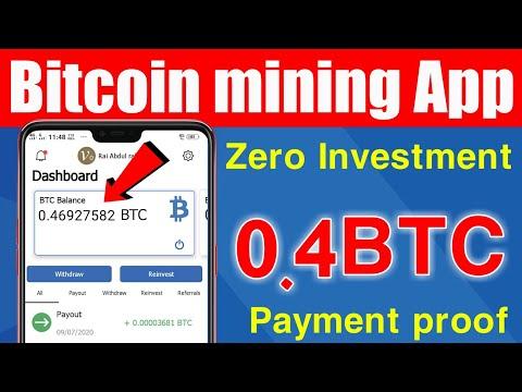 New latest Bitcoin mining App 2020 - Earn Bitcoin without investment , bitcoin earning - okarian rai