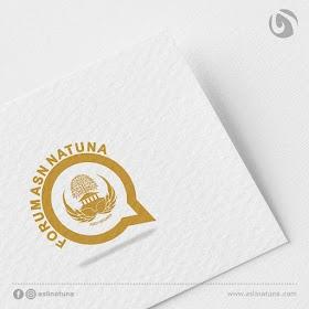 Desain Logo Forum ASN Natuna