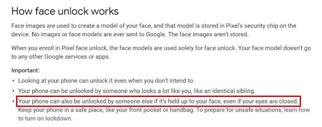 Major Security Flaw — Google Pixel 4's Face Unlock Works Even if Your Eyes are Closed