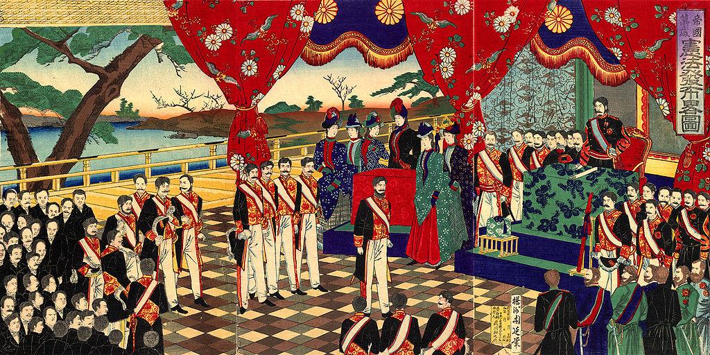 Meiji Constitution promulgation