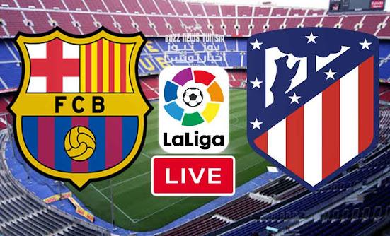 Match FC Barcelona vs Atletico Madrid