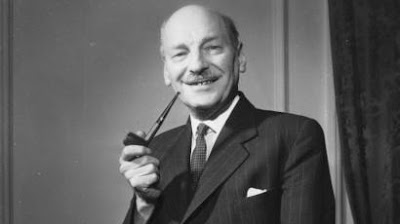UK post-war leader Clement Attlee
