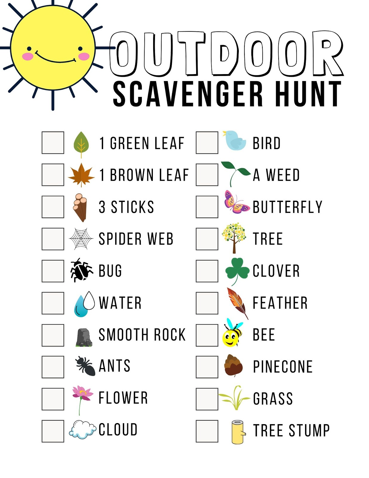 10 of the Best Scavenger Hunt Ideas for Family Fun {with ...