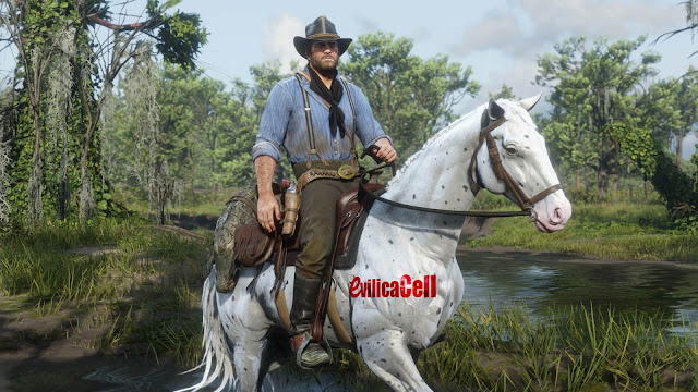 Pemandangan Hutam Red Dead Redemption 2 PC