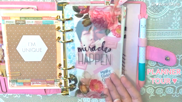 KooriStyle, KooriStyle, Planner, Kikki K, Ring, Setup, Decoration, Cute, Inserts, Monthly, Dividers, Decoración, Divisores, Stickers, Pegatinas, Calcomanias, Cute, Simple, Pink, Move, Mudando, System, Sistema, Como usar, How I use, How to use, tour