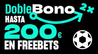 versus bono bienvenida 200 euros freebet
