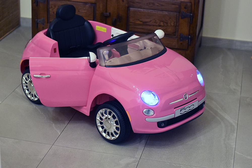 fiat500 rosa bambini