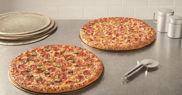 5 99 Carryout Special On Large Two Topping Pizzas At Domino S Through January 26 2020 Brand Eating