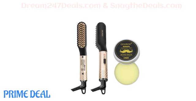 Beard Straightener 45% OFF